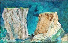 'Wave Sculpture', Rosie Britton, mixed media collage