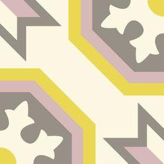 ODYSSEAS 328 Handmade Tiles, Cement
