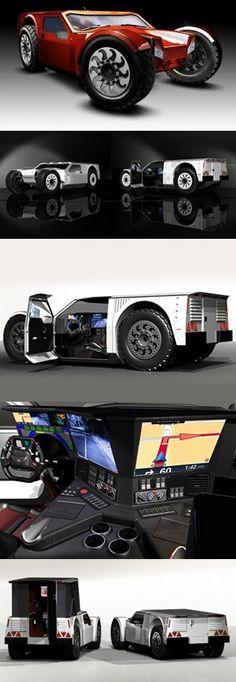 """Shadow Hawk"" concept vehicles"