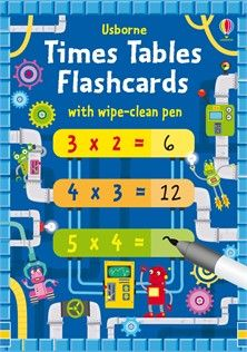 Times tables flash cards - NEW FOR APRIL 2018