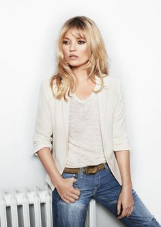 casual chic... Kate Moss for  Mango.... by Terry Richardson...