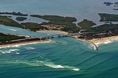 Sebastian Inlet Florida off the A1A....  I think we're going camping there this Fall.