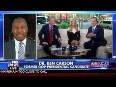 DR BEN CARSON - INTERVIEW ON FOX & FRIENDS -   FOX NEWS 11-11-2016