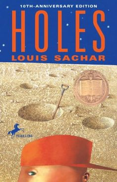 Holes by Louis Sachar. Realistic fiction adventure novel that will keep them interested. See the movie, too. it stays true to the book. Books You Should Read, I Love Books, Great Books, Books To Read, Amazing Books, Big Books, Music Books, Music Tv, This Is Your Life