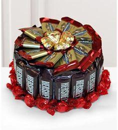 Candy Bar Cake - Proverbial Homemaker