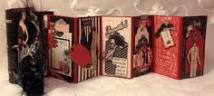 Hi everyone :-)   Made this travel sewing box and mini album book for  Graphic 45 CHA winter 2014.   Used the beautiful Couture collection ...