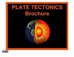 Plate Tectonics Presentation Brochure
