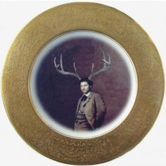 fab upcycled decorative plate art