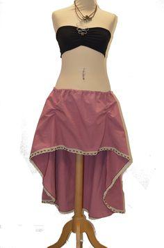Jupe ou sur-jupe bohème / médiéval asymétrique avec dentelle perlée : Jupe par melilange #jupeasymétrique #jupeboheme #jupedecreateur #jupemelilange #jupemedieval #jupeboho #jupegypsy