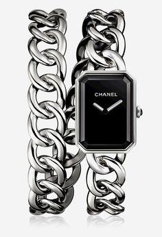 La montre Première Rock de Chanel horlogerie http://www.vogue.fr/joaillerie/le-bijou-du-jour/diaporama/la-montre-premire-rock-de-chanel-horlogerie/19054
