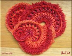 3ème tuto de crochet Freeform de Sophie - Fin