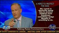 """Watch Bill O'Reilly Call Attorney General Nominee Loretta Lynch A """"Hero"""""""