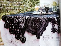 I saw this table cloth and fell in love.