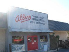 Allen's, Athens GA   Marie, Let's Eat!