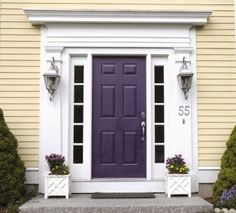 Schon Color Trend 2014: Radiant Orchid (15 Beautiful Exterior Doors)