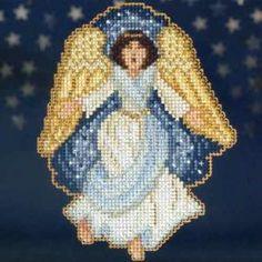 Gloria Bead Christmas Cross Stitch Kit Mill Hill - $5.99