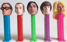 Big Bang Theory Pez