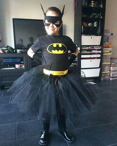 Carnaval Batman girls dress/ tutu