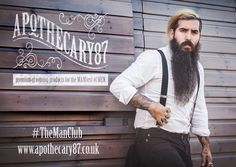 @triggperez, Apothecary87  #TheManClub Beard, Beard Oil, Tattoos, Men with Beards, Man with Beard, Facial hair, Moustache, Mens grooming, Liam Oakes Photo
