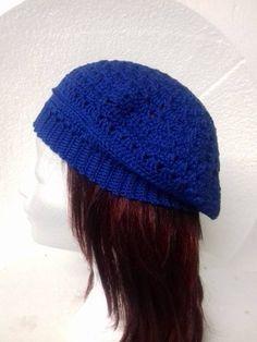 Konings blauwe dames baret 1 Winter Hats, Crochet Hats, Beanie, Fashion, Knitting Hats, Moda, La Mode, Fasion, Beanies
