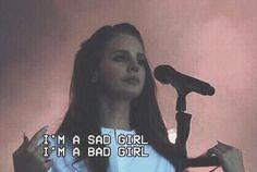 sad girl by lana del rey