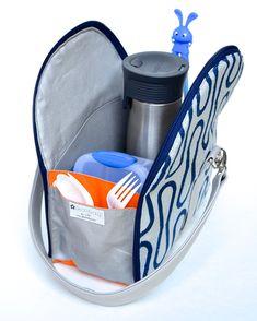 ikat bag: Zip A Bag Chapter 22: Zippered Lunch Bag