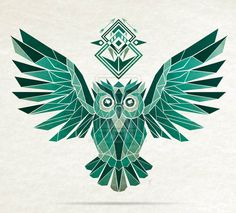 Monochromatic owl by MaNoU56
