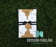 Convite Casamento Rendado Maria Rustic