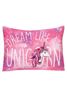 Unicorn Full Size Cozy Pillow (original price, $32.90) available at #Maurices