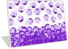 It's Raining Bling Purple Diamond Jewels   Design available for PC Laptop, MacBook Air, MacBook Pro, & MacBook Retina