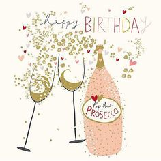 Buy Woodmansterne Prosecco Queen Birthday Card from our Greetings Cards range at John Lewis & Partners. Happy Birthday Drinks, Happy Birthday Wishes Cards, Happy Birthday Flower, Birthday Blessings, Happy Birthday Pictures, Birthday Greeting Cards, Best Birthday Quotes, Birthday Card Online, Queen Birthday