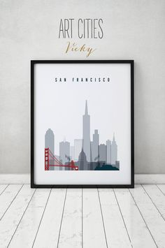 Hey, I found this really awesome Etsy listing at https://www.etsy.com/listing/245911211/san-francisco-print-poster-wall-art-san