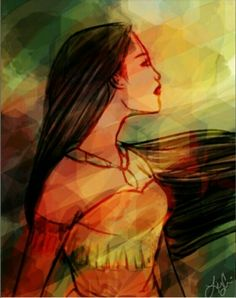 ImageFind images and videos about disney and pocahontas on We Heart It - the app to get lost in what you love. Disney Pixar, Disney Pocahontas, Walt Disney, Heros Disney, Princess Pocahontas, Princess Art, Disney Fan Art, Disney Girls, Disney And Dreamworks