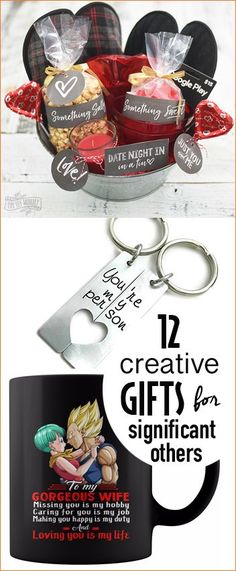 Gifts She'll Love That Aren't Flowers. Creative gifts for significant others. Homemade and store bought gift ideas for those you love. Great gift ideas for wives, girlfriends and really good friends.