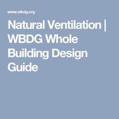 Natural Ventilation | WBDG Whole Building Design Guide
