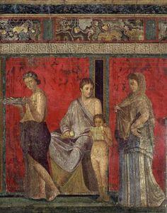 Pompei met meander-fries