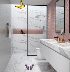 Welcome to blog #bathroom decor modern farmhouse #bathroom decor trends 2018 #bathroom decor mermaid #bathroom decor looks #bathroom decor grey #bathroom elephant decor #bathroom decor for gray walls #bathroom decor jcpenney<br> Bathroom Tile Designs, Bathroom Layout, Modern Bathroom Design, Contemporary Bathrooms, Bathroom Colors, Bathroom Interior Design, Small Bathroom, Bathroom Ideas, Bathroom Grey