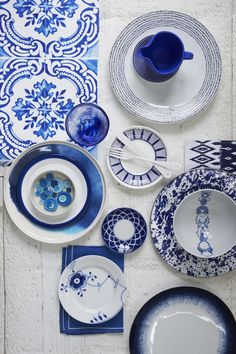 Blue China for breakfast, lunch and tea // #MYFOLIO