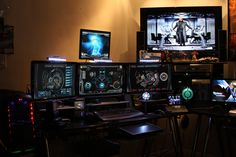 Tony Stark Inspired Man Cave by edreyes