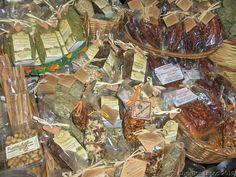 Erice, Sicily  Food Gifts: Frutta di Secca - Dried Fruit, & Pistachios from Bronte, Sicily