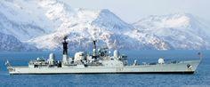 d 97 hms edinburgh sheffield type 42 class destroyer royal navy