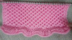 Easy Single Color Knitting Pattern No.37 (Hexagon stitch)|Hindi