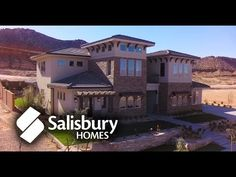 Salisbury Homes 2014 Parade Home St George Utah v4 - YouTube