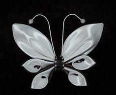 kanzashi ribbon butterfly for toddler girls от ROSHELYSBOWTIQUE