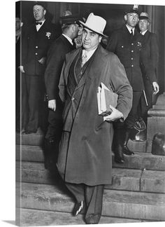 Al Capone was probably the most famous organized crime lord, or more commonly known as a gangster, in American history. Organized crime really started to boom in the because of Prohibition and other factors.