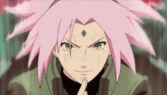 I love Sakura Anime Naruto, Kurama Naruto, Naruto Sasuke Sakura, Narusaku, Shikamaru, Itachi, Hinata, Sakura Haruno Gif, Guerra Ninja