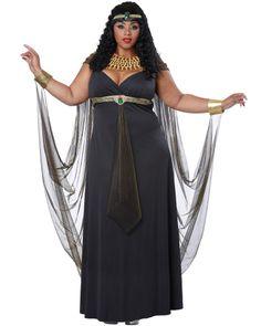 Plus Size Cleopatra and Plus Size Augustus Caesar Couples Costumes ...