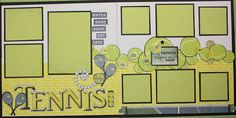 Tennis layout
