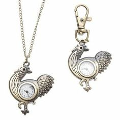 Tanboo Unisex Cock Style Alloy Analog Quartz Keychain Necklace Watch (Bronze) by Tanboo. $8.99. Necklace Watches, Keychain Watches. Children's, Women's, Men's Watche. Casual Watches. Gender:Children's, Women's, Men'sMovement:QuartzDisplay:AnalogStyle:Necklace Watches, Keychain WatchesType:Casual WatchesBand Material:AlloyBand Color:BronzeCase Diameter Approx (cm):4Case Thickness Approx (cm):0.6Band Length Approx (cm):9.5cm,45cmBand Width Approx (cm):1.3cm,0.2cm