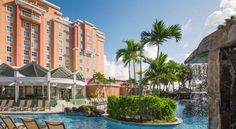 Embassy Suites by Hilton San Juan - Hotel & Casino San Juan With an on-site casino, this Carolina, Puerto Rico hotel is a 10-minute walk to Isla Verde Beach. The hotel features an outdoor pool with waterfall and charming suites with a 37-inch, and a 55-inch flat-screen TVs.